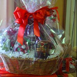 Winans Candy & Coffee Gift Basket