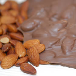 Pecan Bark, Milk Chocolate, 1 lb. Folding Box