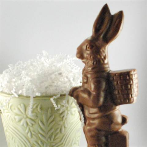 Milk Chocolate Back Pack Bunny