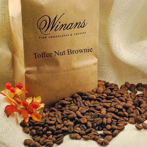 Toffee Nut Brownie, 1 lb. bag, ground