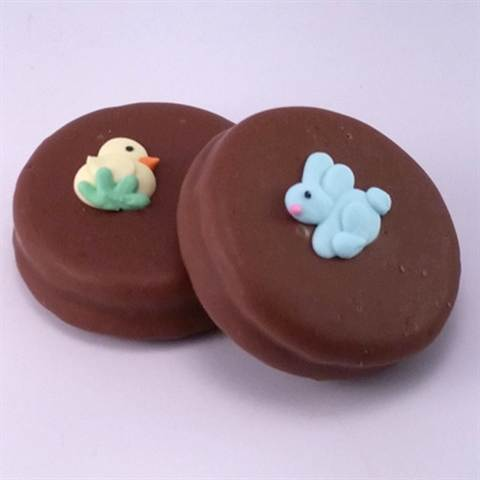 Chocolate-covered Oreos, Easter