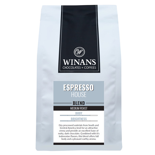 Espresso Blend, 1 lb. bag, whole bean