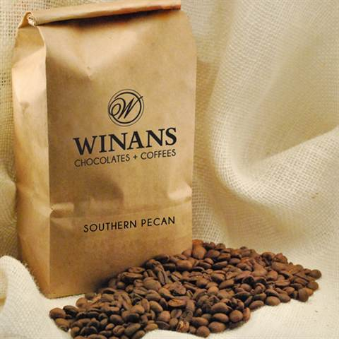Decaf Southern Pecan, 1 lb. bag, ground