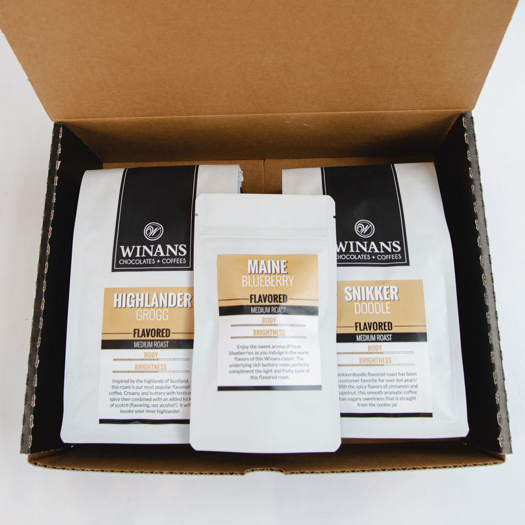 Flavored Coffee Collection- WHOLE BEAN