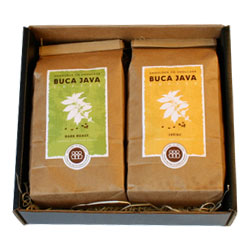 2# -1 Medium & 1 Dark Roast Gift Pack,  Whole Bean