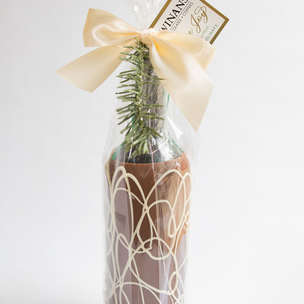 Chocolate Wine Bottle