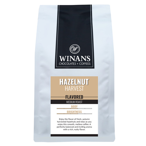Hazelnut Harvest, 1 lb. bag, whole bean