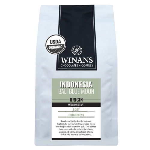 Indonesia Bali Blue Moon, 1 lb. bag, whole bean