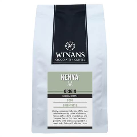 Kenya, 1 lb. bag, whole bean