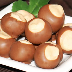 1# Gift Box Milk Chocolate Buckeyes
