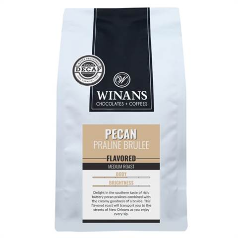 Decaf Pecan Praline Brulee, 1 lb. bag, whole bean