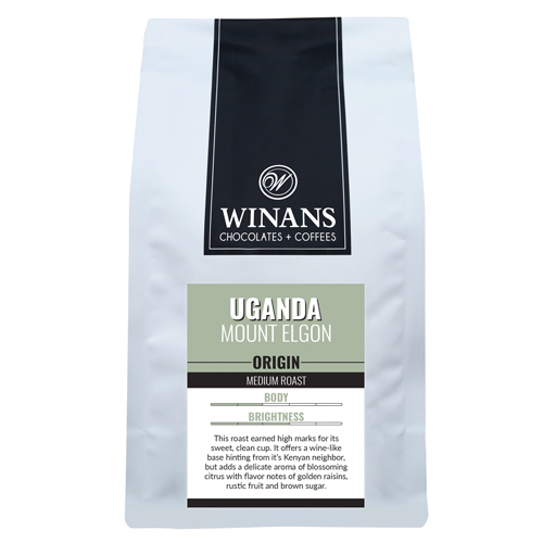 Uganda Mt. Elgon, 1 lb. bag, whole bean