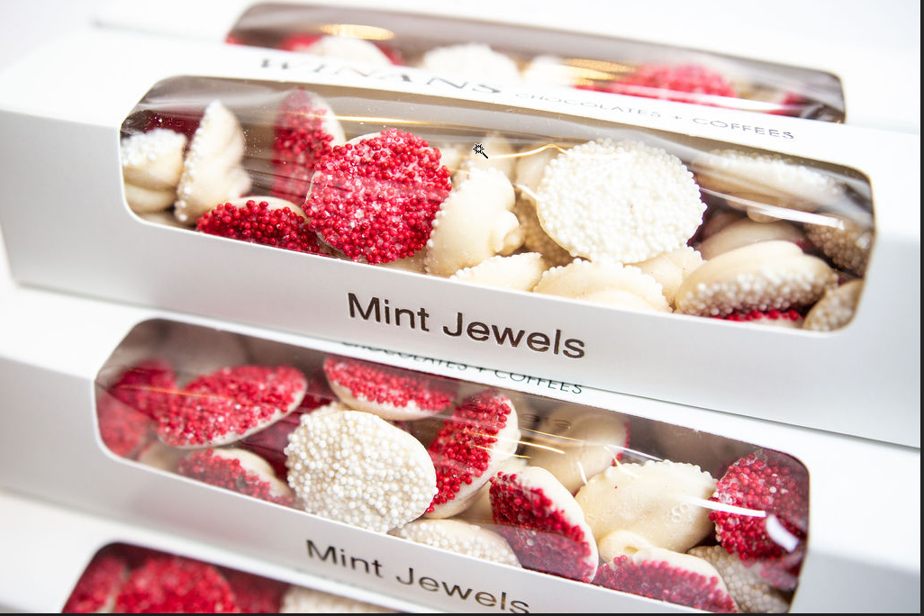 Valentine Mint Jewels