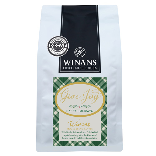 Decaf Winans Blend, 1 lb. bag, ground