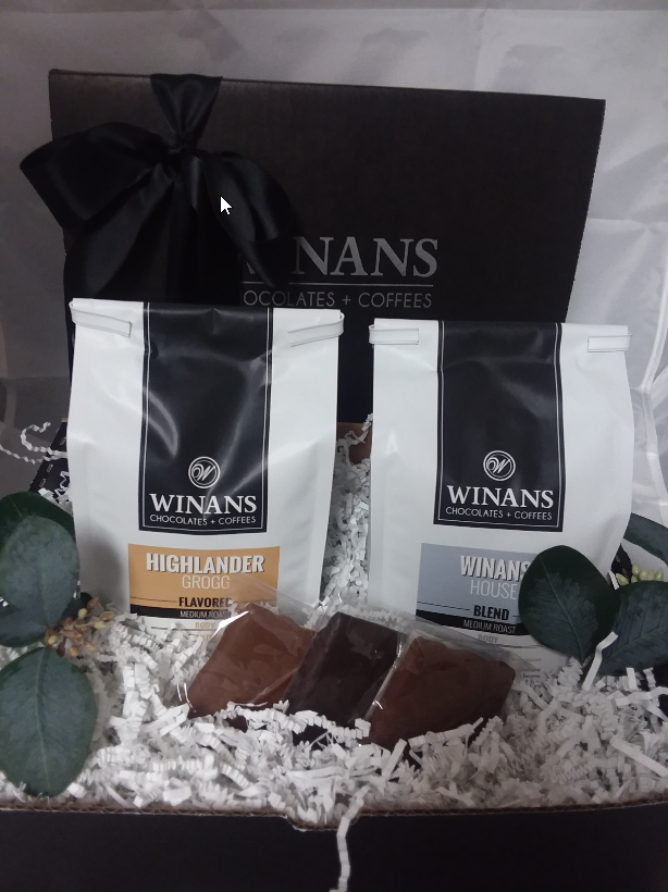 Regular Coffee Gift Pack with Chocolate Grahams