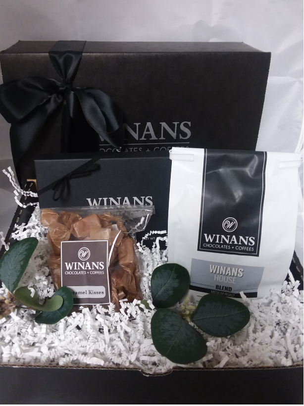 Chocolate, Caramels and Coffee Gift Pack