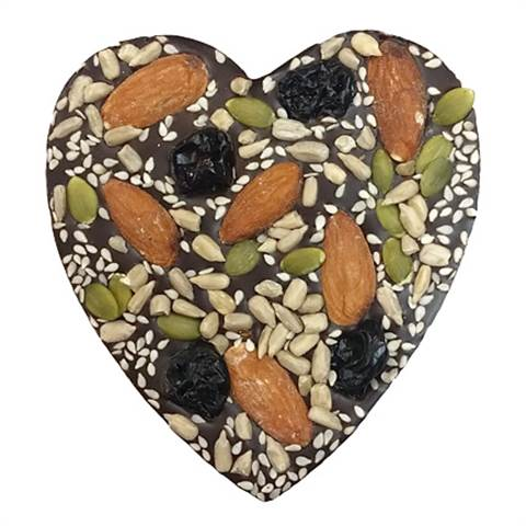Healthy Heart with Cherries and Almonds, 2oz.